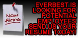 EverBest is looking for potential employees - send us your resume today