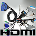 KVM Switch / HDMI / PC Cables