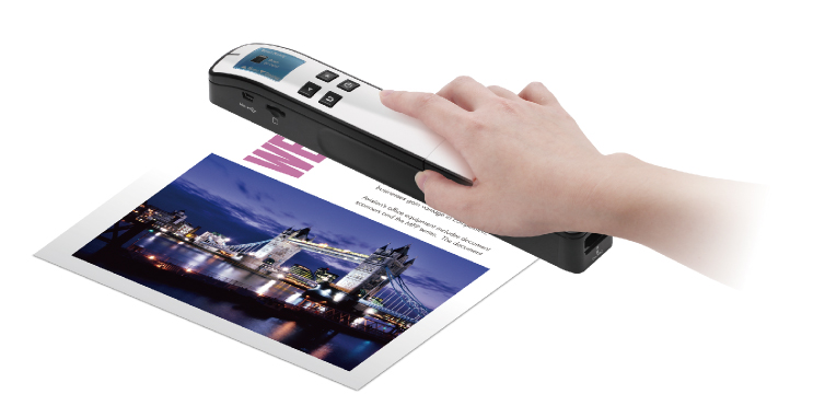Miwand 2-a  mobile color scanner with LCD-Refurbished Unit/30days W.