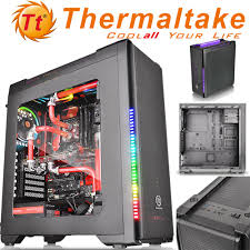 Versa C21 RGB ATX Mid-Gaming Case with Side Window, (RGB LED illumination is  optional)